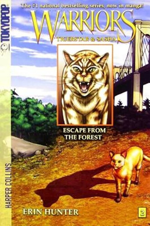 Erin Hunter - Escape from the Forest, Paperback -
