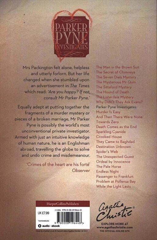 Agatha Christie - Parker Pyne Investigates, Paperback -