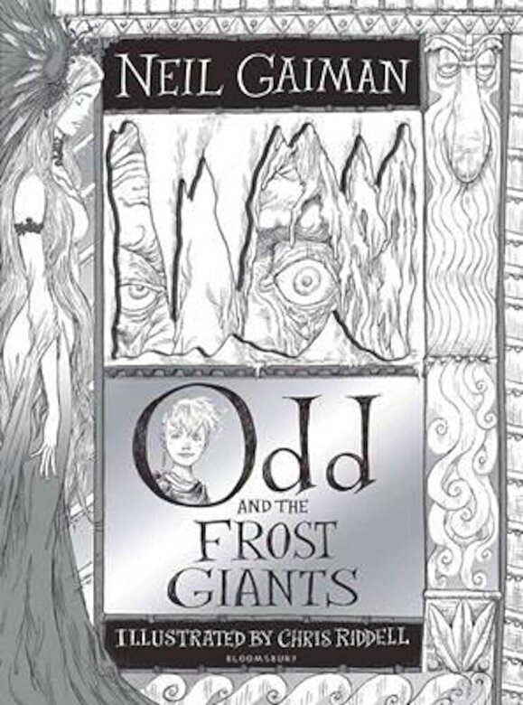 Neil Gaiman - Odd and the Frost Giants, Hardcover -