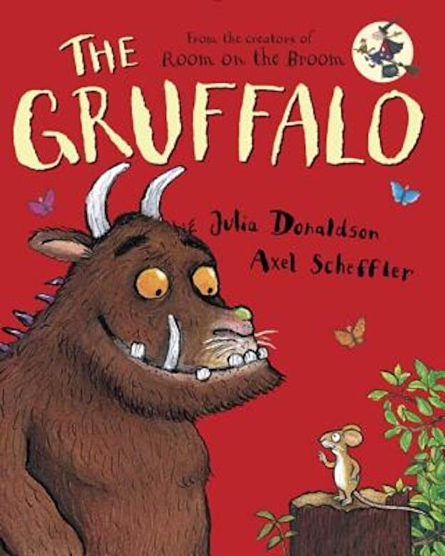 Julia Donaldson - The Gruffalo, Hardcover -
