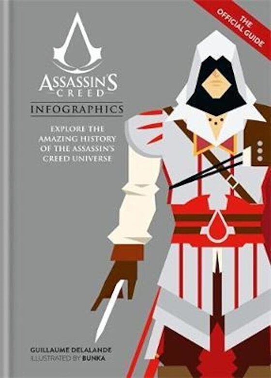Guillaume Delalande - Assassin's Creed Infographics, Hardcover -