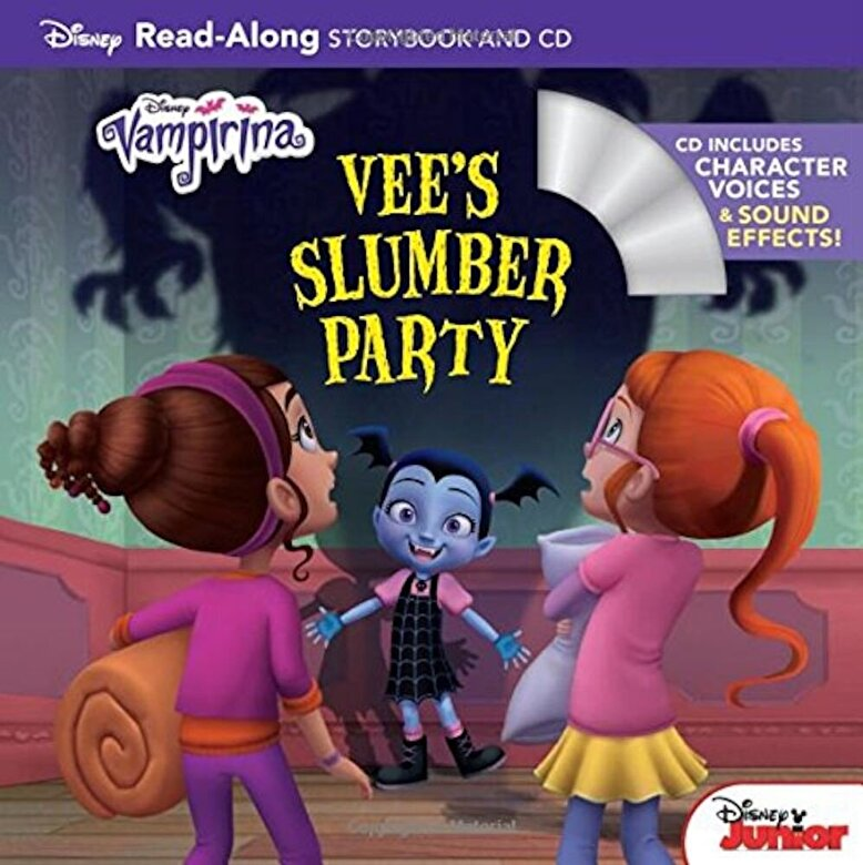 Disney Book Group - Vampirina: Vee's Slumber Party [With Audio CD], Paperback -