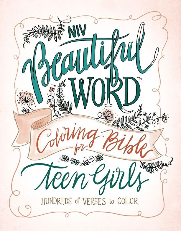 Zondervan - NIV, Beautiful Word Coloring Bible for Teen Girls, Hardcover: Hundreds of Verses to Color, Hardcover -