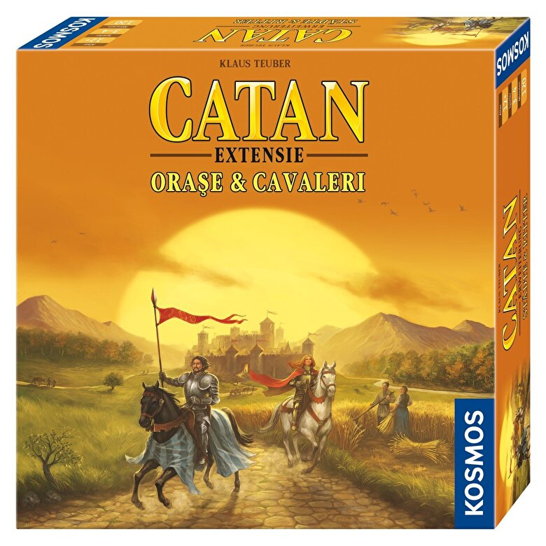 Kosmos - Catan - extensie Orase&Cavaleri -