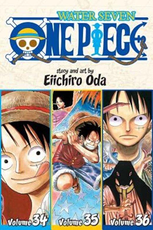 Eiichiro Oda - One Piece: Water Seven 34-35-36, Vol. 12 (Omnibus Edition), Paperback -
