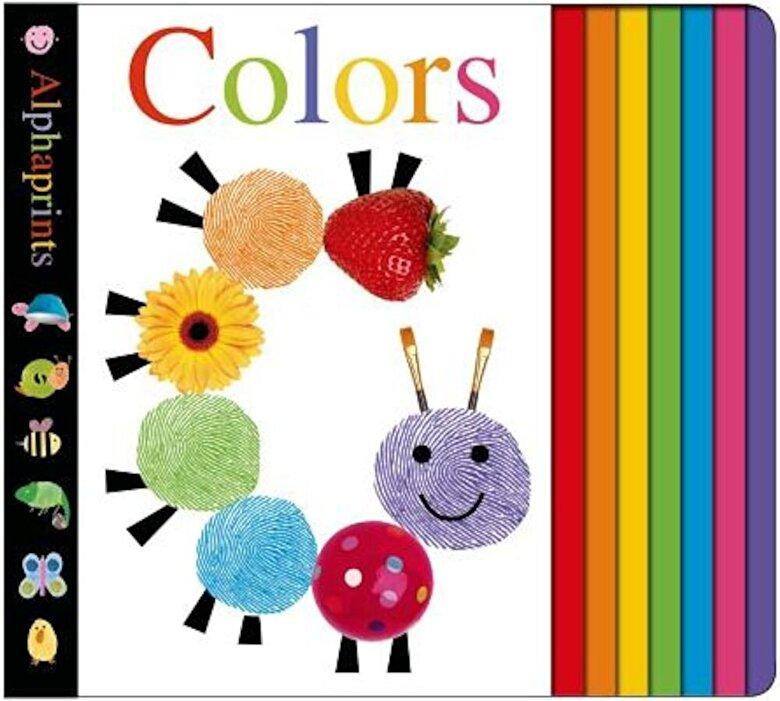 Roger Priddy - Alphaprints: Colors, Hardcover -