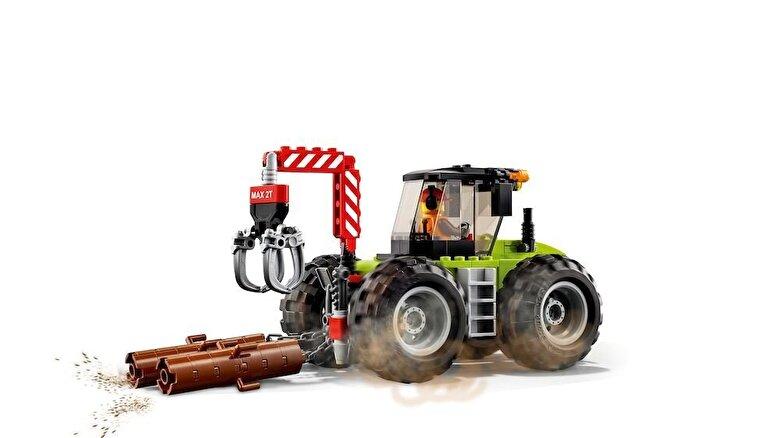 LEGO - LEGO City, Tractor de padure 60181 -