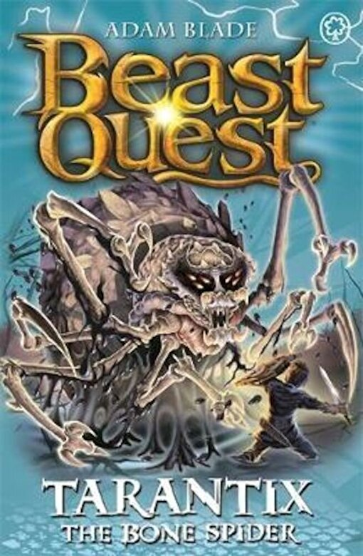 Adam Blade - Beast Quest: Tarantix the Bone Spider, Paperback -