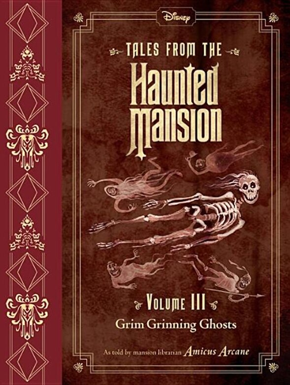 Disney Book Group - Tales from the Haunted Mansion, Volume III: Grim Grinning Ghosts, Hardcover -