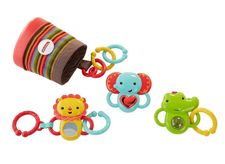 Fisher Price - Jucarie zornaitoare Fisher-Price Animale din jungla -