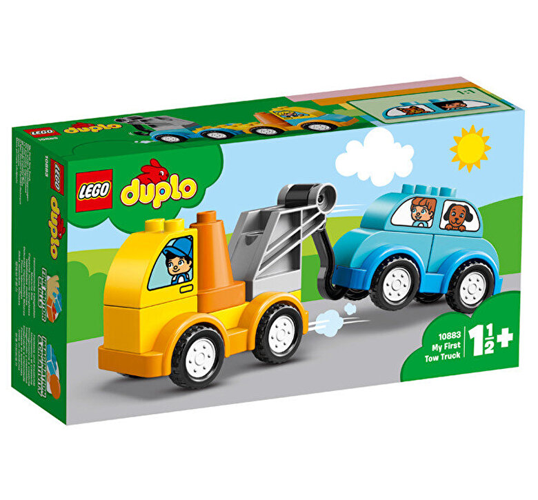LEGO - LEGO DUPLO, Primul meu camion de remorcare 10883 -