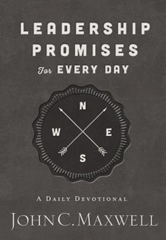 John C. Maxwell - Leadership Promises for Every Day: A Daily Devotional, Paperback -