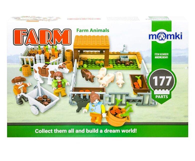 Momki - Momki - Ferma, Animalele fermei, 177 piese -