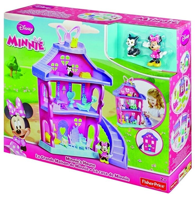 Fisher Price - Set de joaca Minnie - Casa Polka -