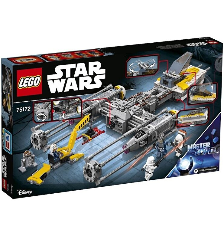 LEGO - LEGO Star Wars, Y-Wing Starfighter 75172 -