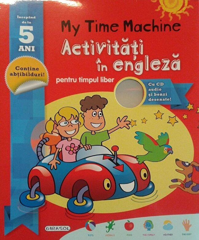 *** - My Time Machine. Activitati in engleza pentru timpul liber (include CD) -