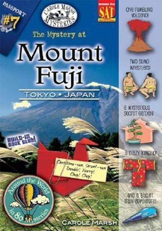 Carole Marsh - The Mystery at Mt. Fuji: Tokyo, Japan, Paperback -