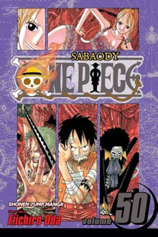 Eiichiro Oda - One Piece, Volume 50 [With Sticker(s)], Paperback -