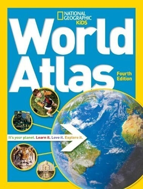 National Geographic - National Geographic Kids World Atlas -
