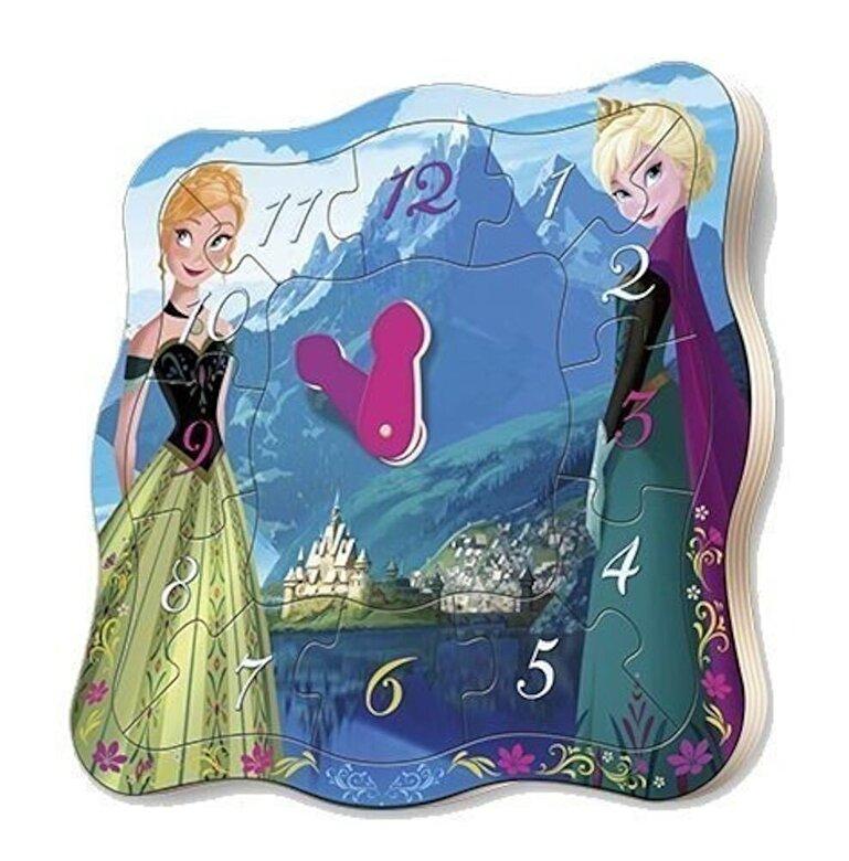 Playme - Puzzle ceas - Disney Frozen, 12 piese -