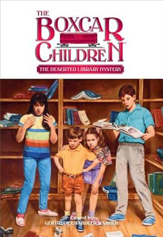 Gertrude Chandler Warner - The Deserted Library Mystery, Paperback -