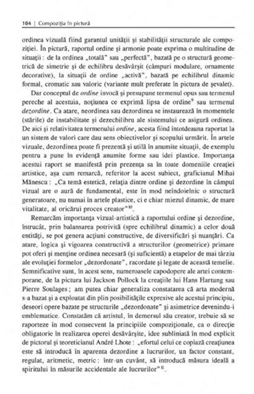 Mihaly Jeno Bartos - Compozitia in pictura -