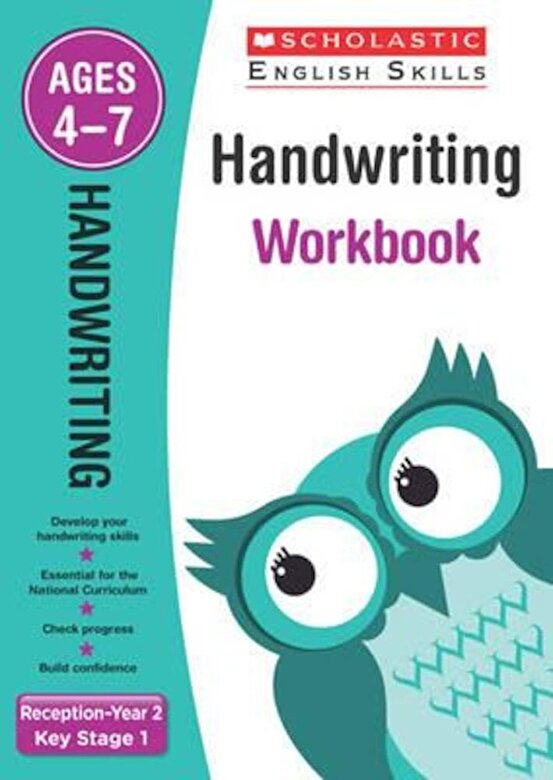 *** - Handwriting Reception-Year 2 Workbook, Paperback -