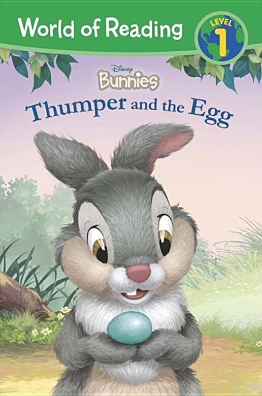Disney Book Group - Disney Bunnies: Thumper and the Egg, Paperback -