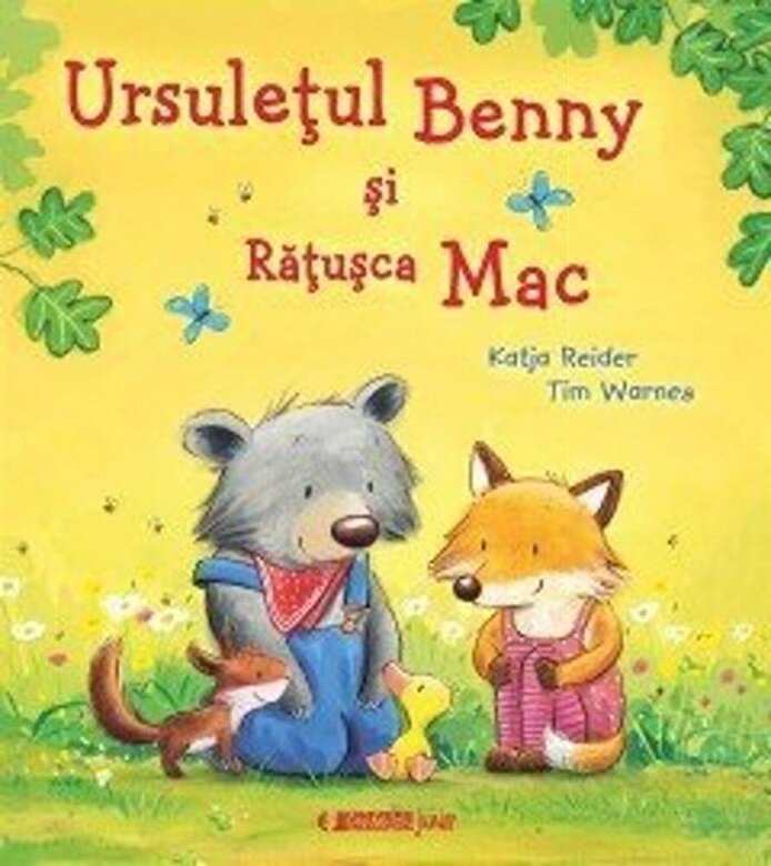 Kajda Reiner, Tim Warnes - Ursuletul Benny si Ratusca Mac -