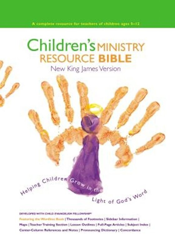 Thomas Nelson - Children's Ministry Resource Bible-NKJV: Helping Children Grow in the Light of God's Word, Hardcover -
