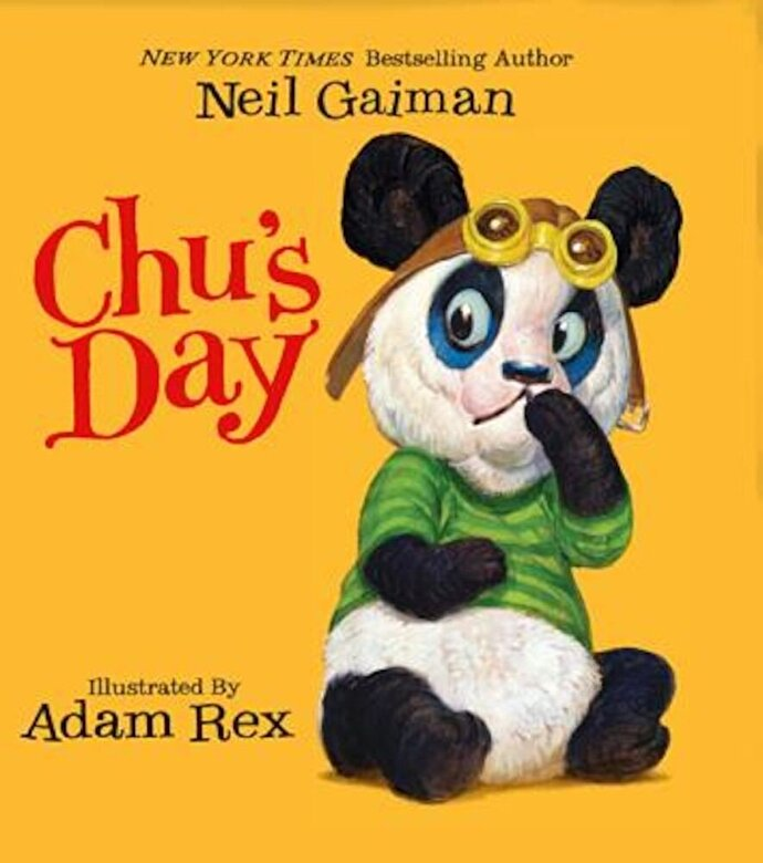 Neil Gaiman - Chu's Day, Hardcover -