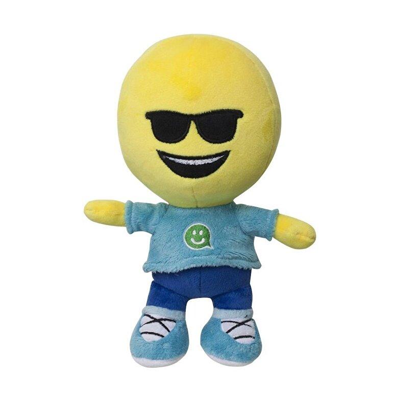 Ilanit - Emoji - Jucarie plus Sun glasses, 21 cm -