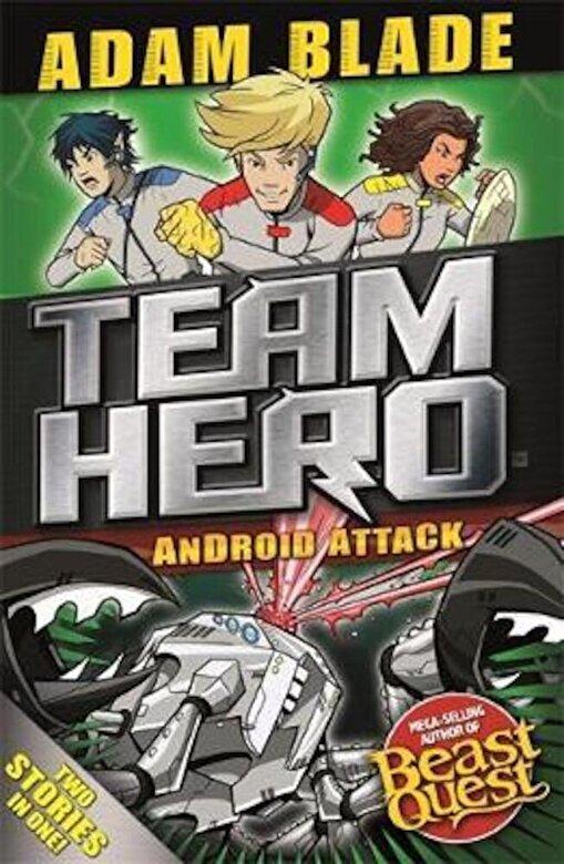 Adam Blade - Team Hero: Android Attack, Paperback -