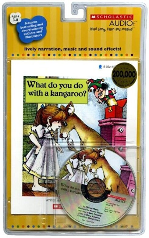 Mercer Mayer - What Do You Do with a Kangaroo? - Audio [With Paperback Book] -