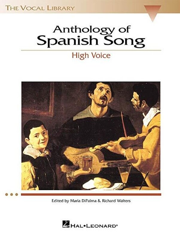 *** - Anthology of Spanish Song: The Vocal Library High Voice, Paperback -