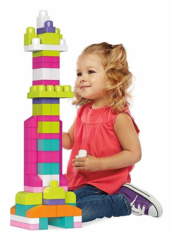 Mega Bloks - Set constructie Mega Bloks 60 de piese roz -