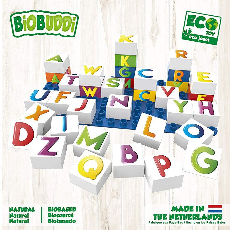 BioBuddi - Set de constructie - Lumea literelor -