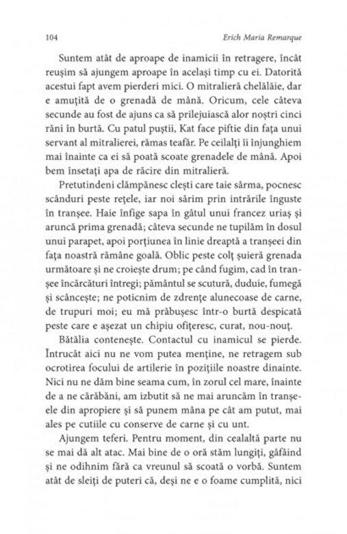 Erich Maria Remarque - Pe frontul de vest nimic nou -