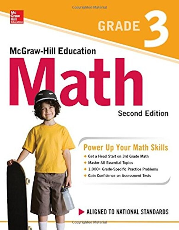 McGraw-Hill Education - McGraw-Hill Education Math Grade 3, Second Edition, Paperback -