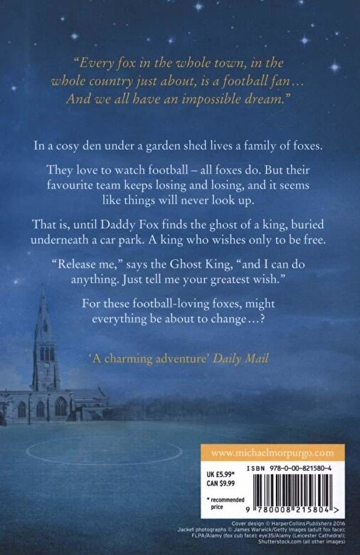 Michael Morpurgo - Fox and the Ghost King, Paperback -