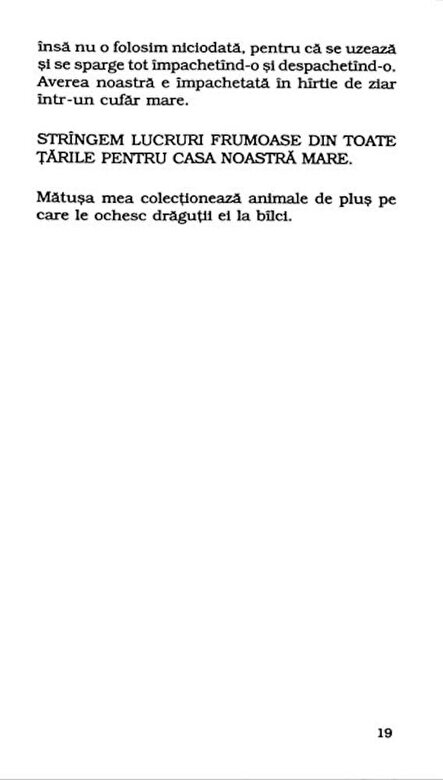 Aglaja Veteranyi - De ce fierbe copilul in mamaliga (Top 10+) -