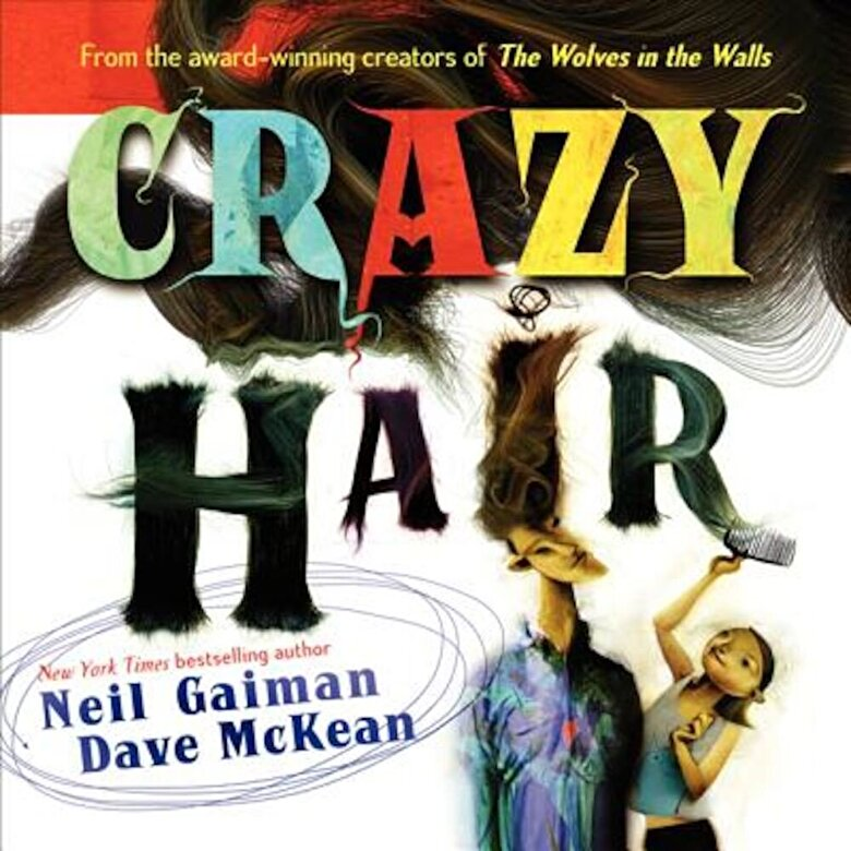 Neil Gaiman - Crazy Hair, Paperback -