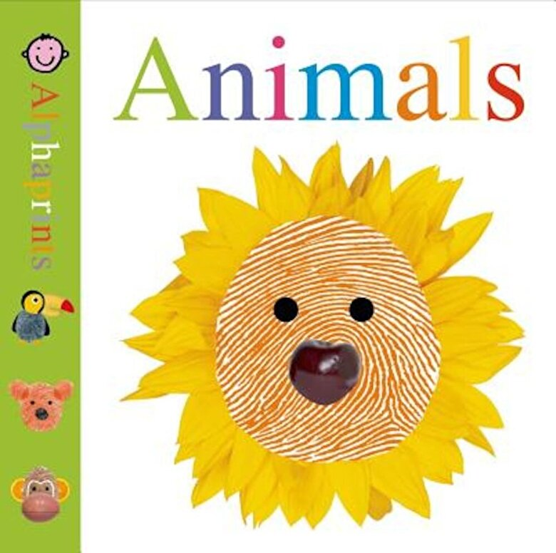 Roger Priddy - Alphaprints: Animals, Hardcover -