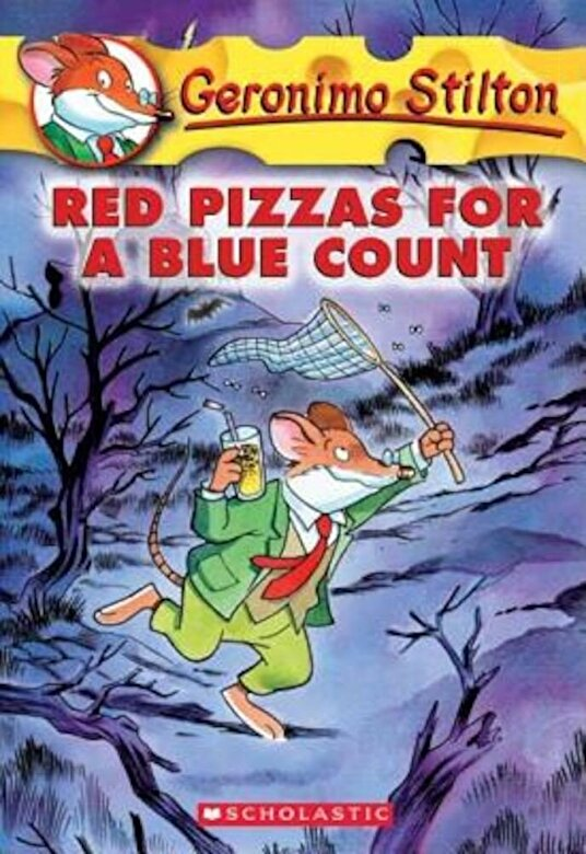 Geronimo Stilton - Red Pizzas for a Blue Count, Paperback -