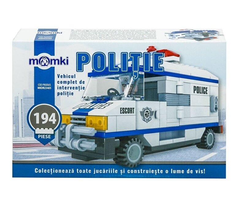Momki - Momki - Politie, Vehicul interventie, 194 piese -