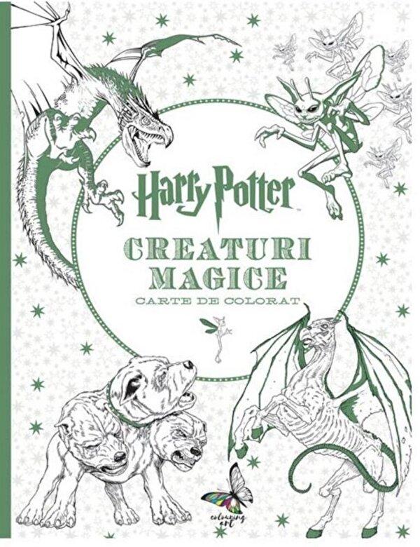 Adam Raiti, Scott Buoncristiano, Robin F. Williams, Manuel Martinez, Maxine Lebrun, Dee Peei - Harry Potter. Creaturi magice - carte de colorat -