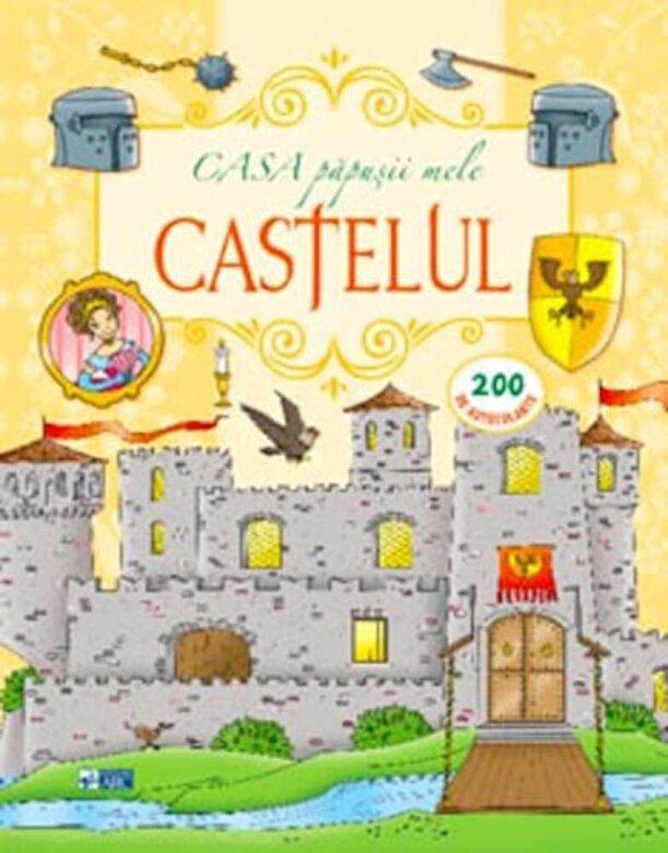 *** - Castelul. Casa papusii mele. 200 autocolante -
