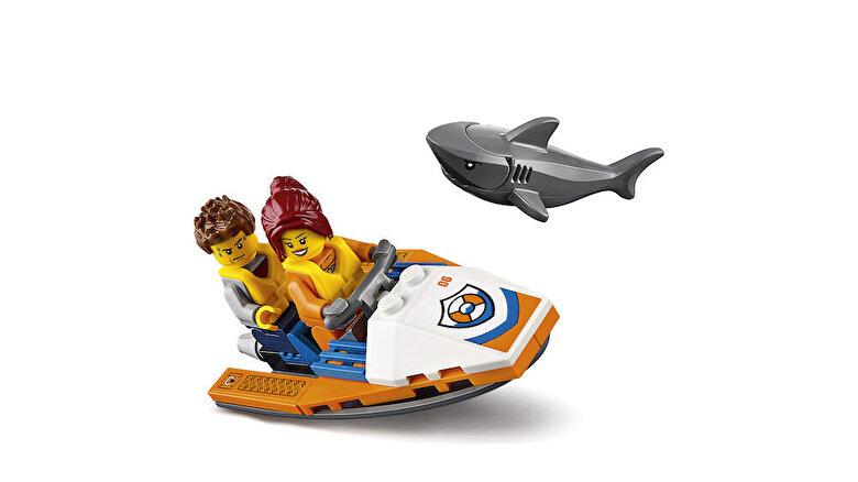 LEGO - LEGO City, Elicopter de salvare pentru conditii grele 60166 -