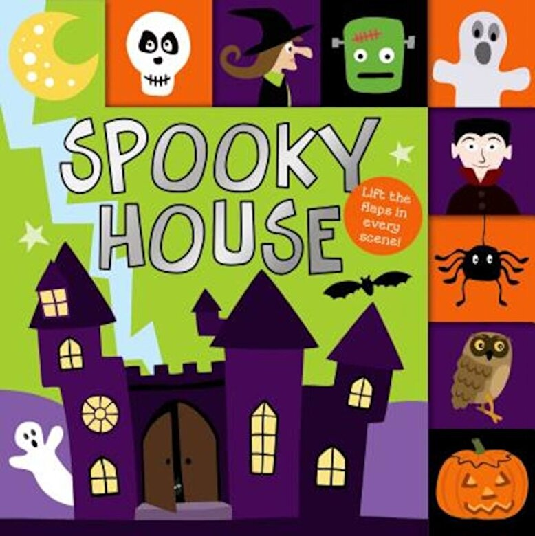 Roger Priddy - Spooky House, Hardcover -