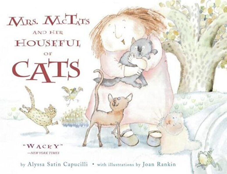 Alyssa Satin Capucilli - Mrs. McTats and Her Houseful of Cats, Paperback -
